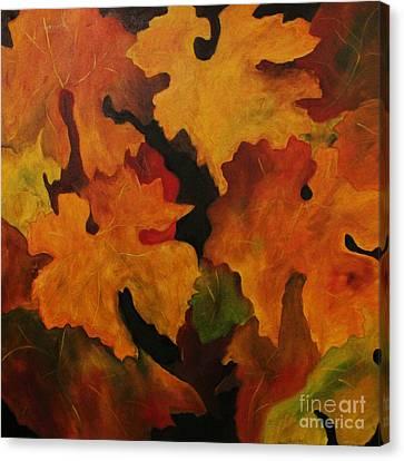 Vine Leaves Canvas Print by John Stuart Webbstock