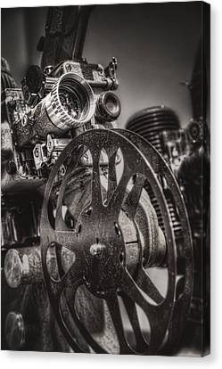 Vintage 16mm Canvas Print by Scott Norris