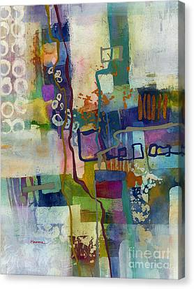 Canvas Print featuring the painting Vintage Atelier by Hailey E Herrera