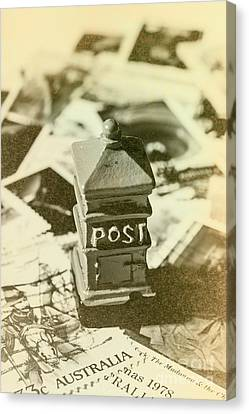 Mailboxes Canvas Print - Vintage Australian Postage Art by Jorgo Photography - Wall Art Gallery