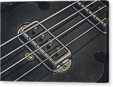 Vintage Bass Canvas Print