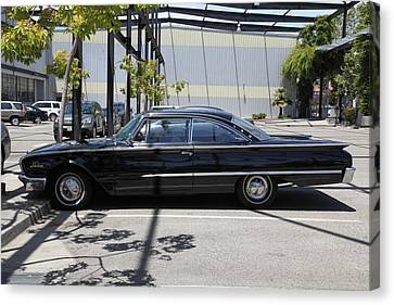 Vintage Black Ford Starliner . 5d16707 Canvas Print by Wingsdomain Art and Photography