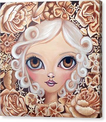 Vintage Blooms Canvas Print by Jaz Higgins