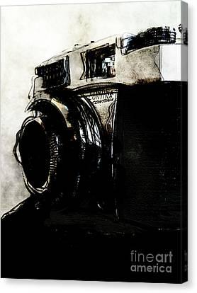 Vintage Camera Iv Canvas Print