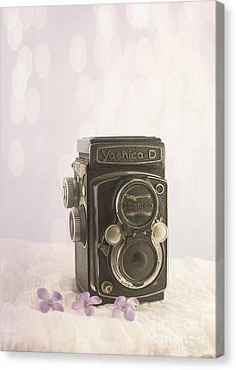Vintage Camera Canvas Print by Juli Scalzi