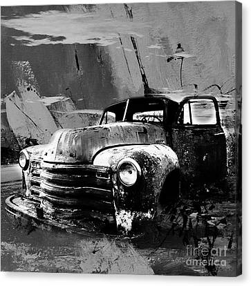 Vintage Car 04 Canvas Print by Gull G
