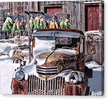 Vintage Chevrolet Canvas Print by Richard Bean