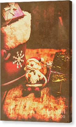Vintage Christmas Art Canvas Print by Jorgo Photography - Wall Art Gallery