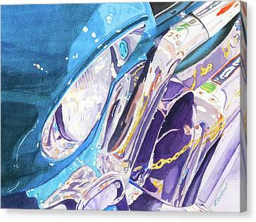 Vintage Chrome Canvas Print by Lynne Reichhart