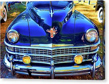 Vintage Chrysler Canvas Print