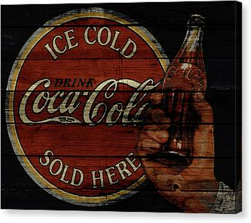 Prime Canvas Print - Vintage Coca Cola Sign 1a by Brian Reaves