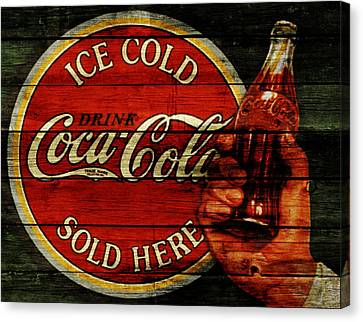 Prime Canvas Print - Vintage Coca Cola Sign 1b by Brian Reaves