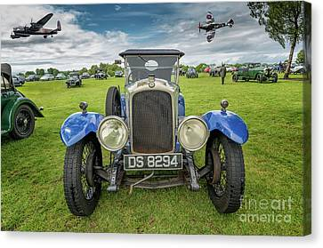 Vintage Day Canvas Print by Adrian Evans