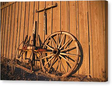 Vintage Details By The Blacksmith Barn Canvas Print by Stephen St. John