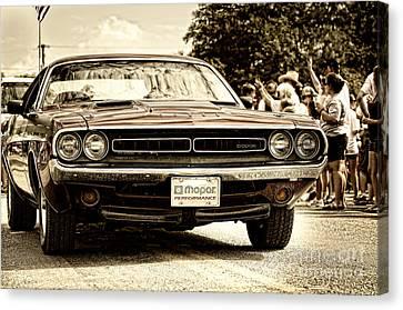 Vintage Dodge Charger Canvas Print