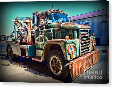 Vintage Dodge Tow Truck Canvas Print by Paul Ward