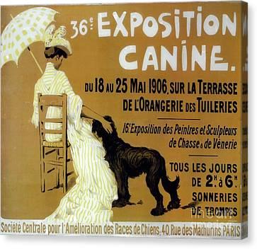Vintage Dog Show Canvas Print