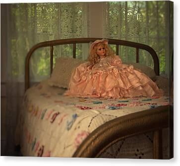 Vintage Doll Canvas Print by Mitch Spence