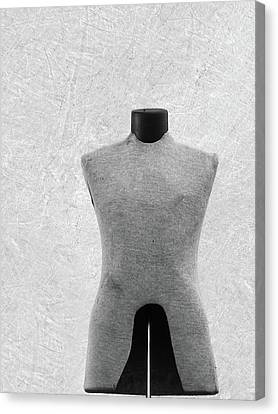 Canvas Print featuring the photograph Vintage Dress Form by Brooke T Ryan
