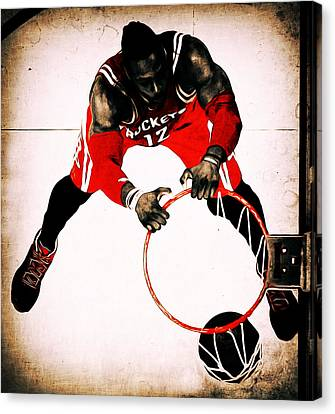 Julius Erving Canvas Print - Vintage Dwight Howard by Brian Reaves
