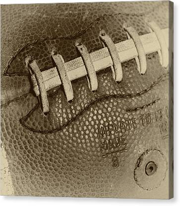 Vintage Football 2 Canvas Print by David Patterson