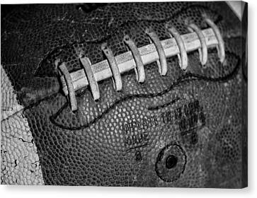 Vintage Football 3 Canvas Print by David Patterson