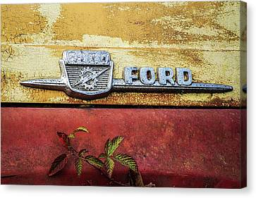 Vintage Ford Logo Canvas Print
