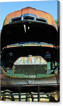 Vintage Ford Pickup Truck Canvas Print by Jill Reger