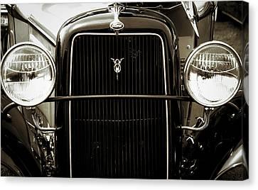 Vintage Ford V8 Canvas Print