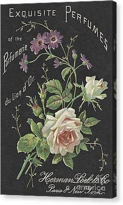 Vintage French Perfume  Canvas Print