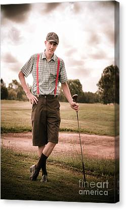 Vintage Golf Canvas Print by Jorgo Photography - Wall Art Gallery
