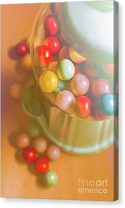 Vintage Gum Ball Candy Dispenser Canvas Print by Jorgo Photography - Wall Art Gallery