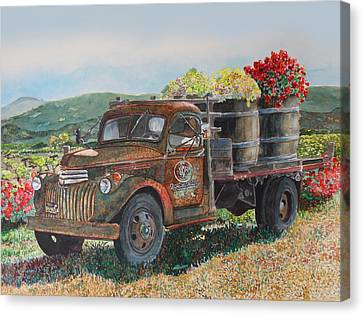 Vintage Harvest Canvas Print by Gail Chandler