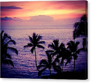 Vintage Hawaii Canvas Print