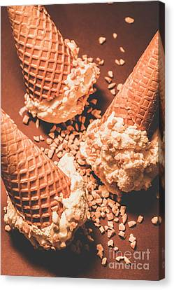 Serve Canvas Print - Vintage Ice Cream Shop Art by Jorgo Photography - Wall Art Gallery