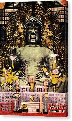 Vintage Japanese Art 24 Canvas Print by Hawaiian Legacy Archive - Printscapes