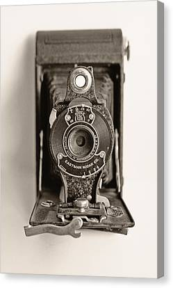 Vintage Kodak Camera Canvas Print by Tony Grider