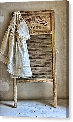 Vintage Laundry II Canvas Print by Marcie  Adams