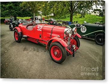 Canvas Print featuring the photograph Vintage Motors by Adrian Evans