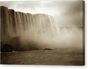 Vintage Niagara Falls Canvas Print by Marilyn Hunt