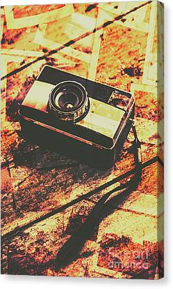 Vintage Old-fashioned Film Camera Canvas Print by Jorgo Photography - Wall Art Gallery