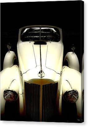 Vintage Packard Convertible  Canvas Print by Steven  Digman