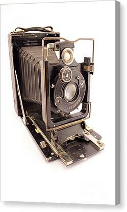 Isolated Canvas Print - Vintage Photo Camera by Daniel Ghioldi