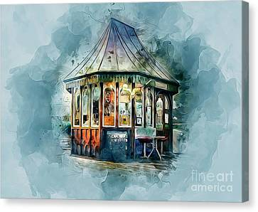 Vintage Pier Shop Canvas Print
