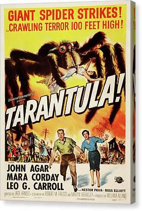Vintage Poster - Tarantula Canvas Print by Vintage Images