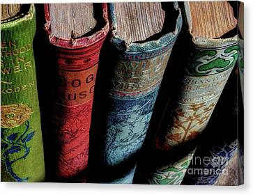 Books Canvas Print - Vintage Read by Michael Eingle