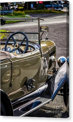 Screen Doors Canvas Print - Vintage Reflections by Adrian Evans