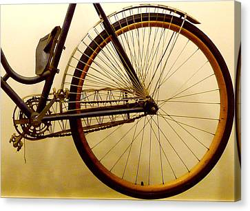 Vintage Remington Bike Canvas Print by Lori Seaman