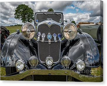 Grill Canvas Print - Vintage Riley by Adrian Evans