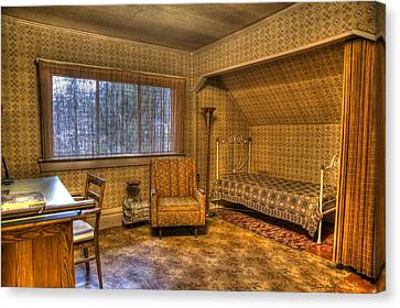 Vintage Room Canvas Print by Jason Evans